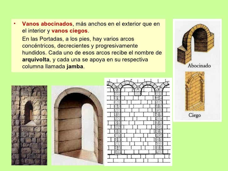 Arte rom nico generalidades arquitectura for Arte arquitectura definicion