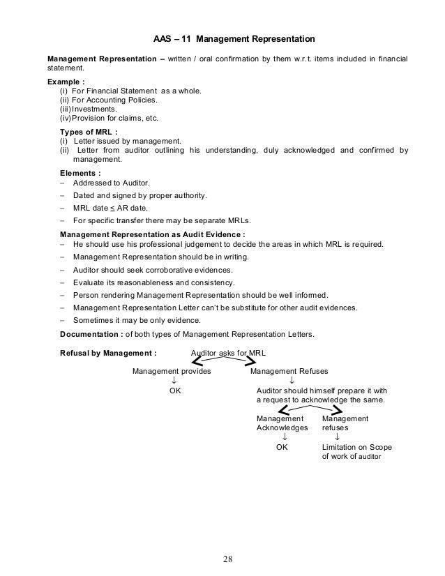 27 28 aas 11 management representation