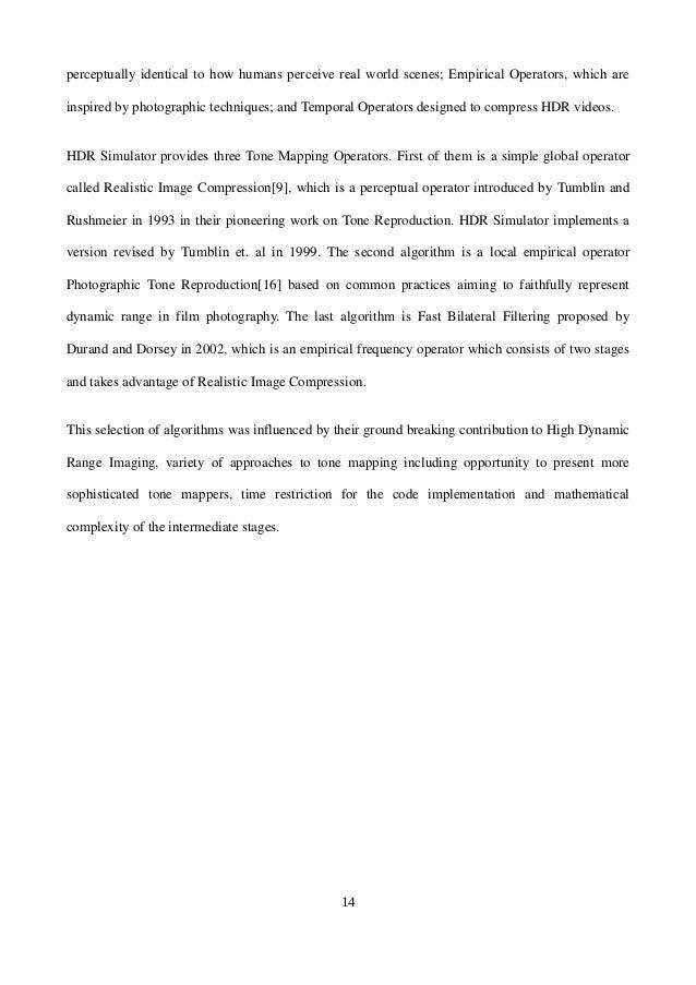 REPORT_FINAL-KATARZYNA TEREK _DYNAMIC RANGE OPTIMIZATION OF