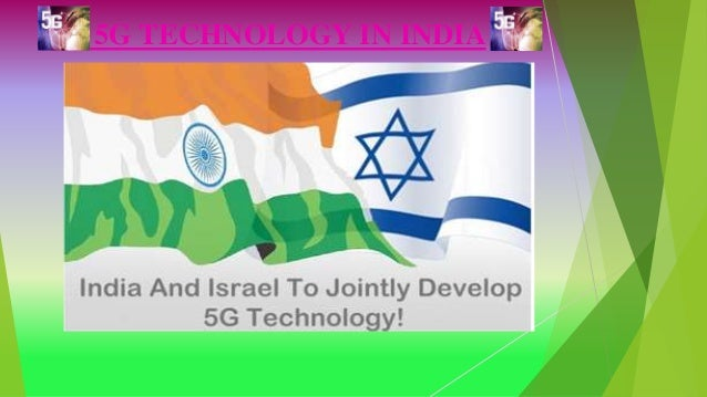 5G TECHNOLOGY IN INDIA
