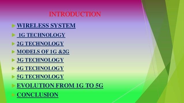 5G WIRELESS TECHNOLOGY [Recovered] Slide 2