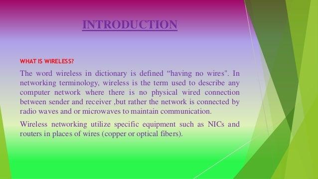 5G WIRELESS TECHNOLOGY [Recovered] Slide 3