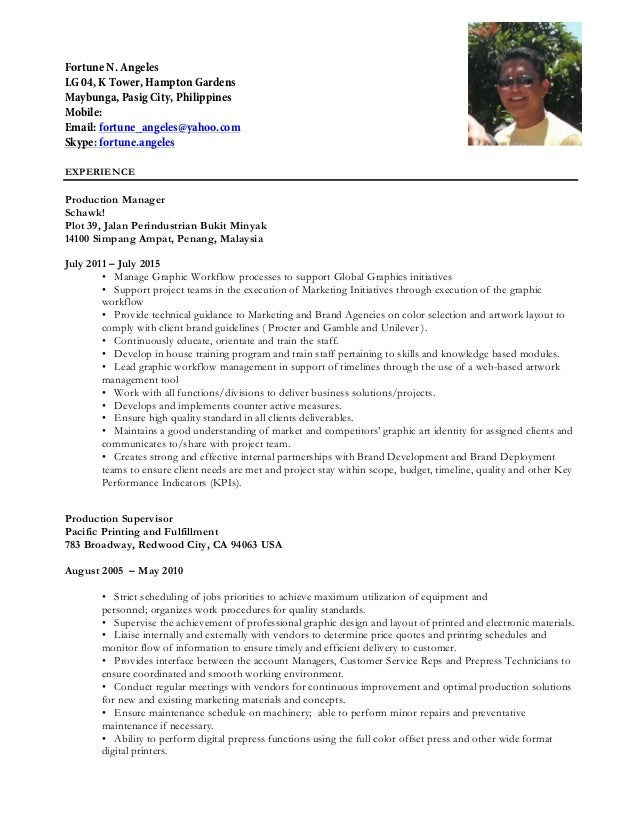 Angeles resume hibernate resume
