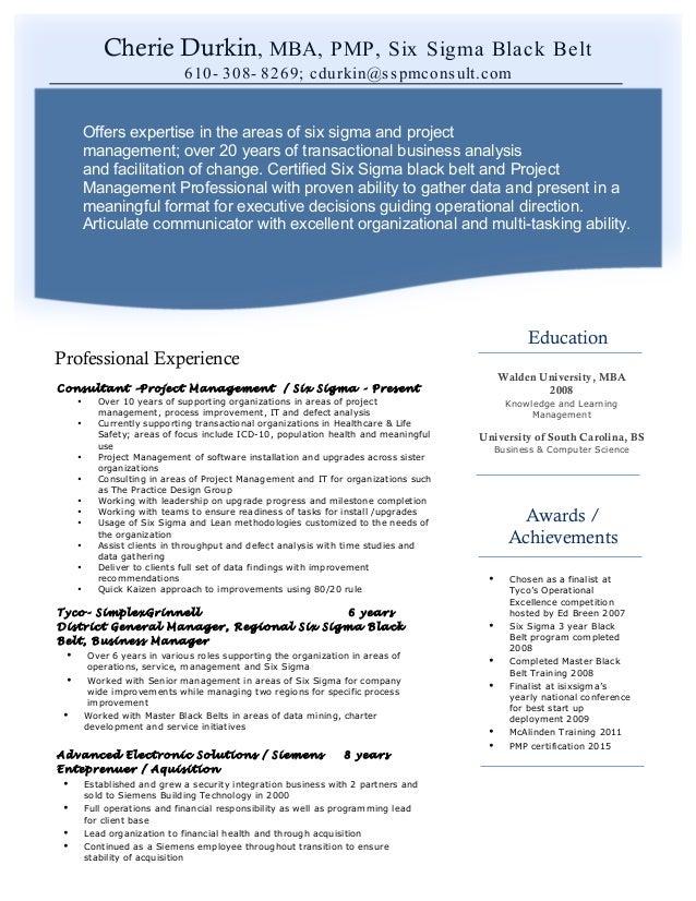 Pm Resume 2015