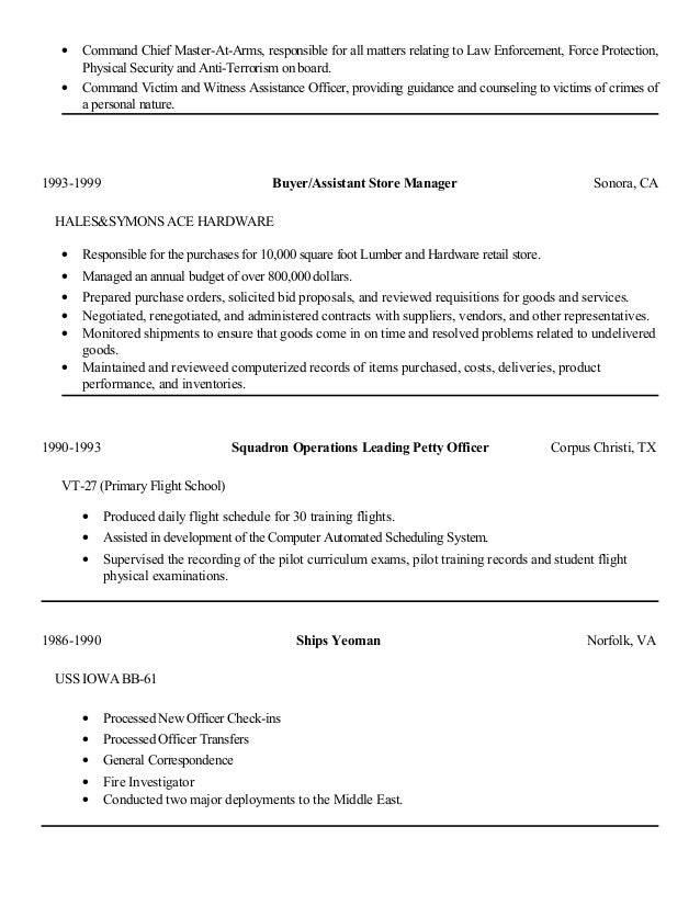 Master At Arms Resume | Great Master At Arms Resume Photos Master Electrician Resume