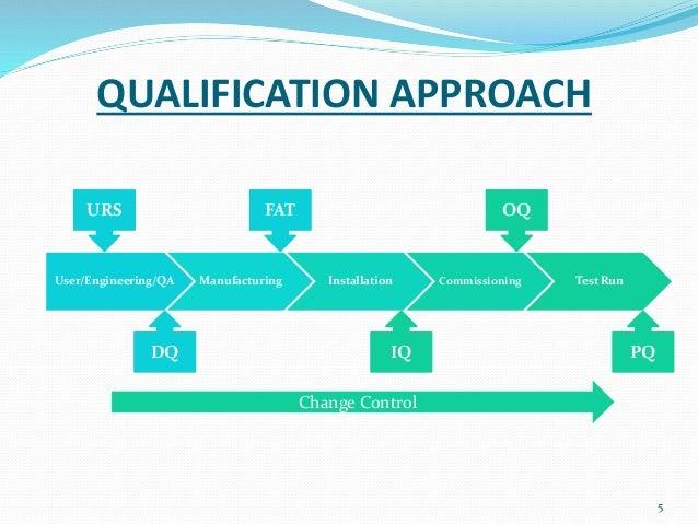 machine qualification