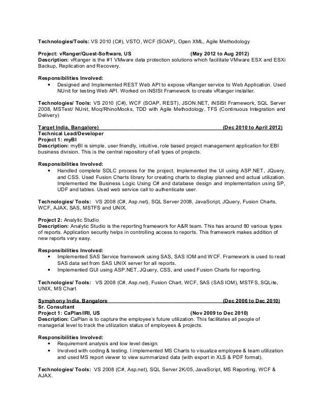 bioinformatics resume sample