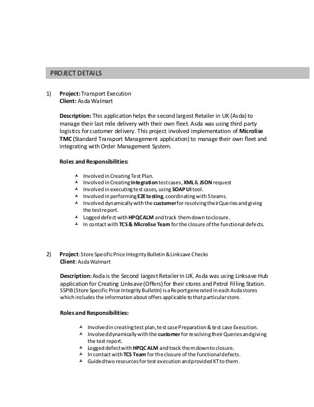 Perfect Asda Management Resume Crest - Best Resume Examples by ...