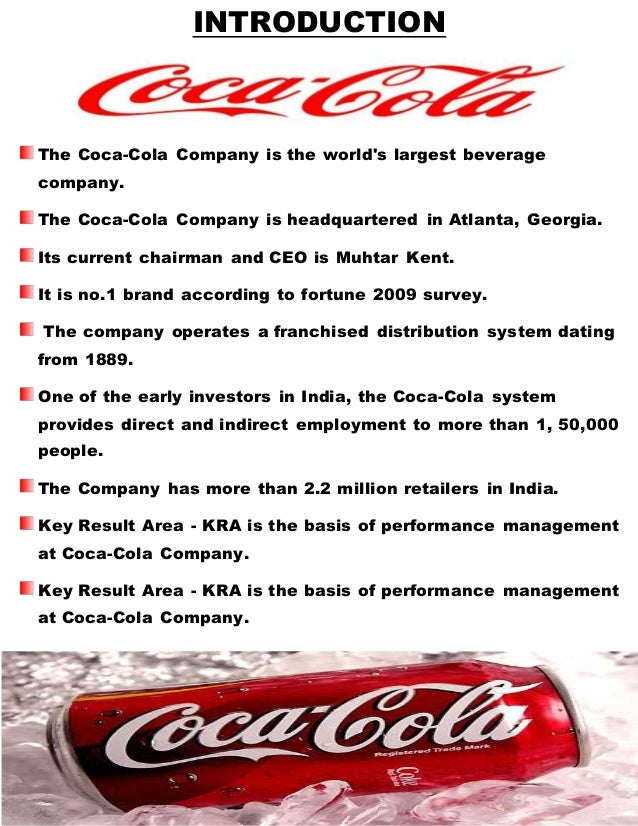the performance of coca cola Financial reports and information for the coca-cola company.