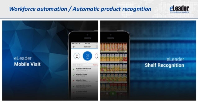 Workforce automation / Automatic product recognition
