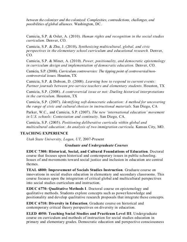 controversial issues in social studies curriculum Appendix i teacher competences for teaching controversial issues 25  opening up the school curriculum to issues  from citizenship education and social studies.