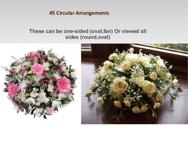 The Basic Types of Flower Arrangements