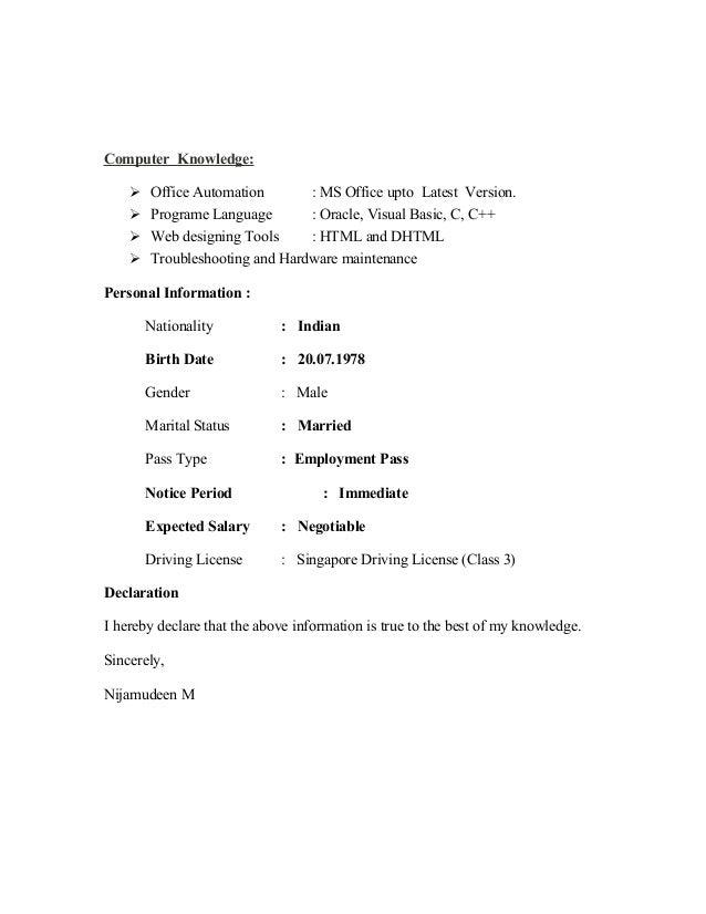 Resume Import & Export Coordinator