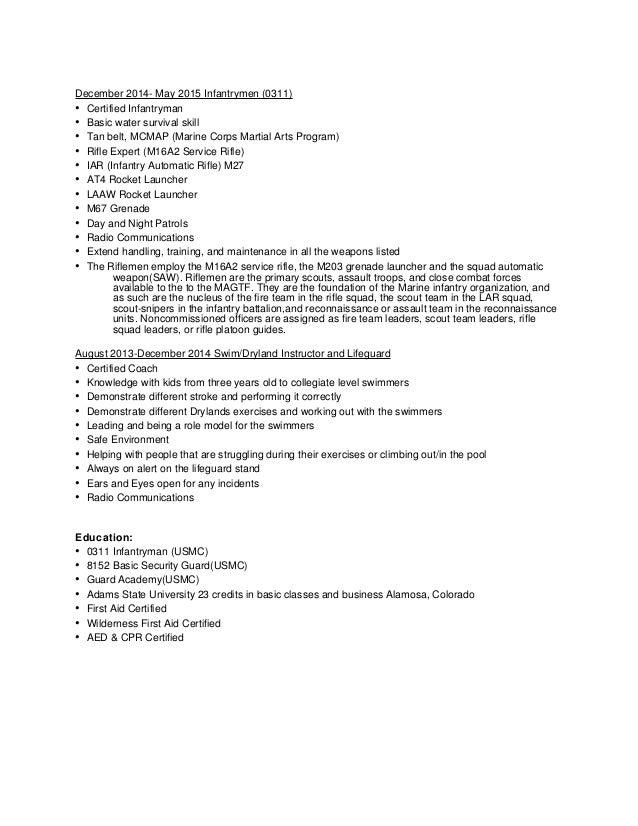 Resume Chronological 20151105