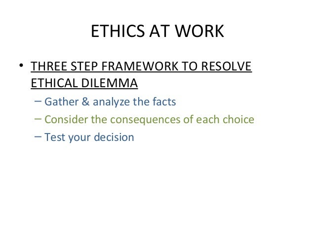 7 guidelines for making ethical decisions