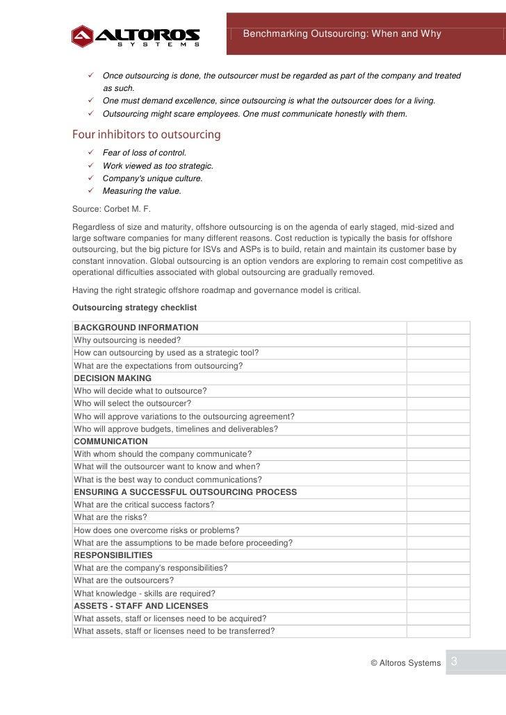 how to outsource and what parameters The model also allows the user to change the parameters with sliding controls  um modelo de condução do processo de outsourcing e um estudo de caso na.