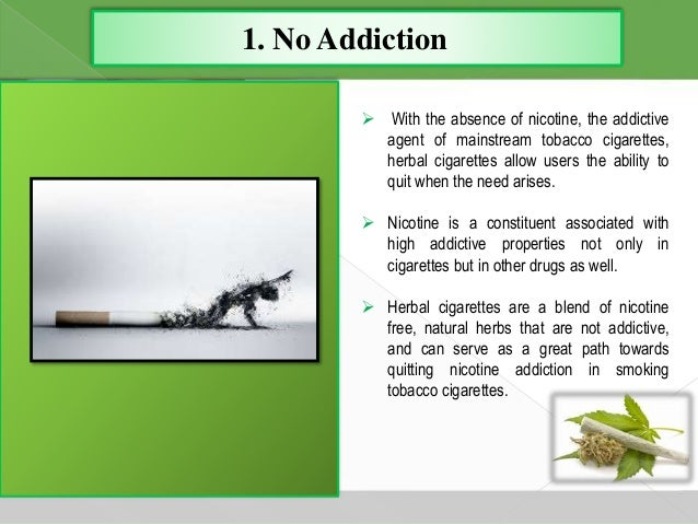9 benefits of herbal cigarettes