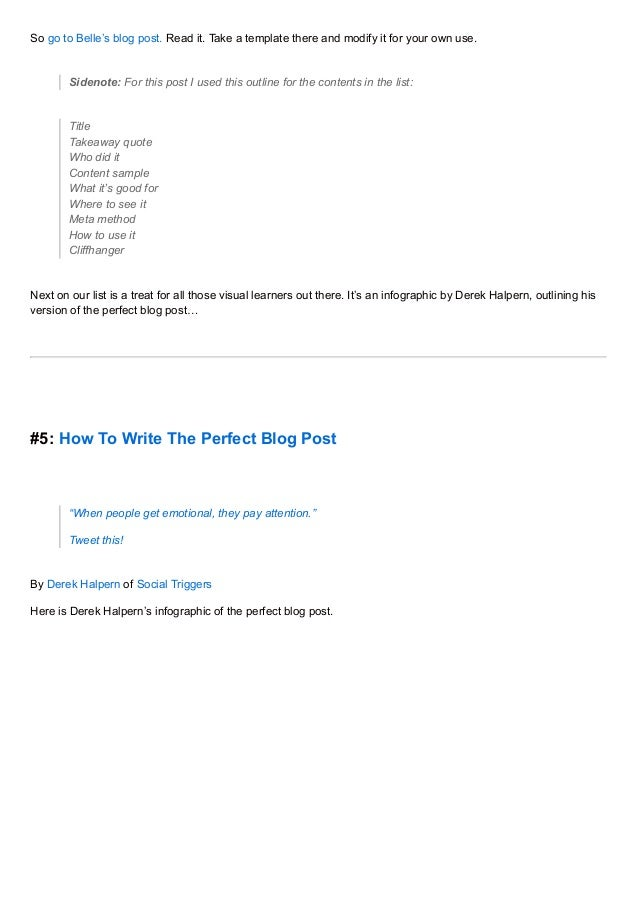 Write My Own Will Template | 9 Best Blog Writing Templates
