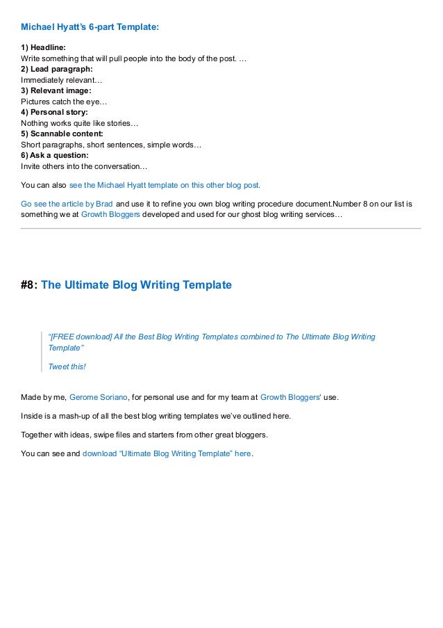Writer Blog Themes