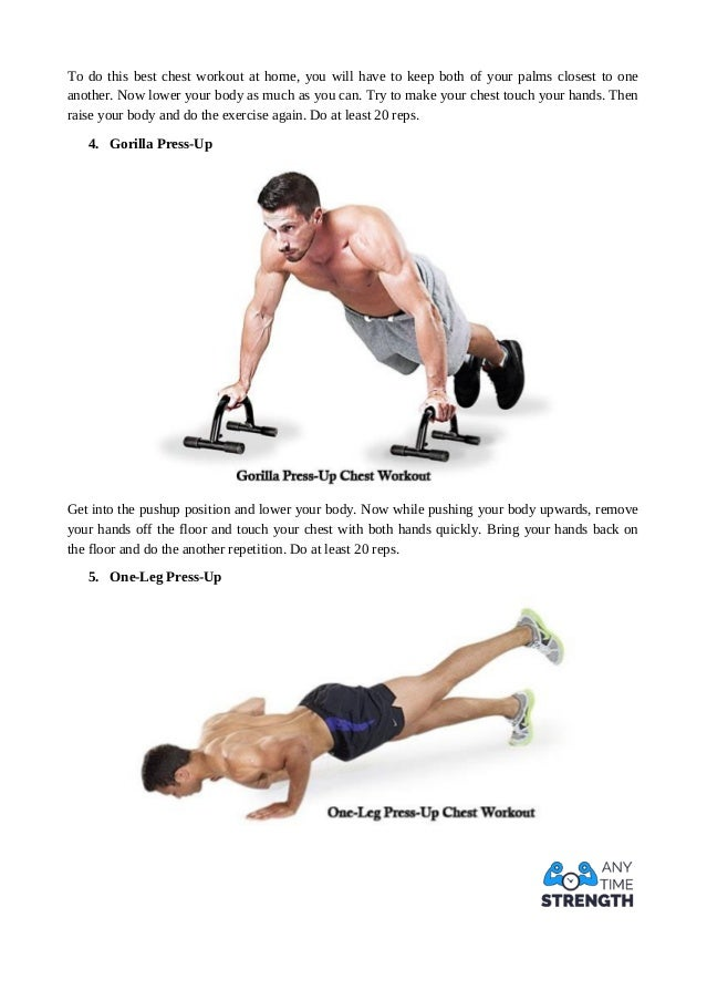 Diamond Press Up 4 To Do This Best Chest Workout At Home