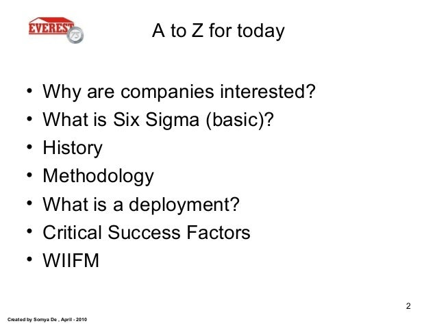 The_ABCs_of_Six_Sigma_Everest Slide 2