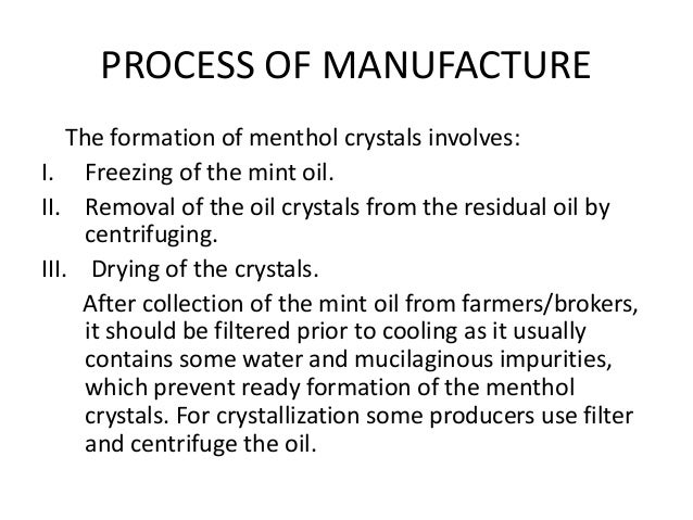 What are the remarkable uses of menthol crystals by itaoverseas1 ...