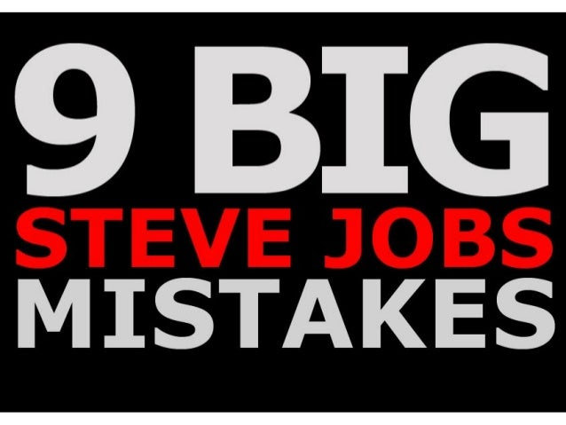9 BIG  MISTAKES