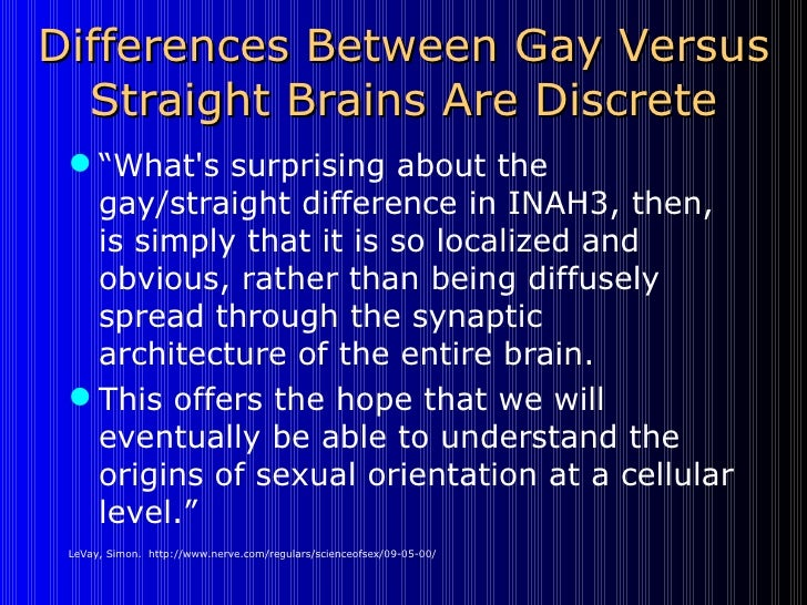 Two finger sexual orientation views