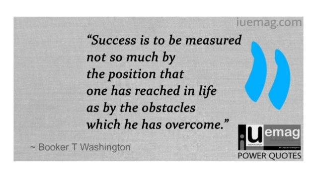 9 Booker T Washington Quotes To Lead You To Success