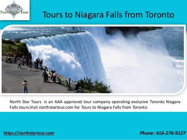 Niagara Falls Luxury Day Tour From Toronto