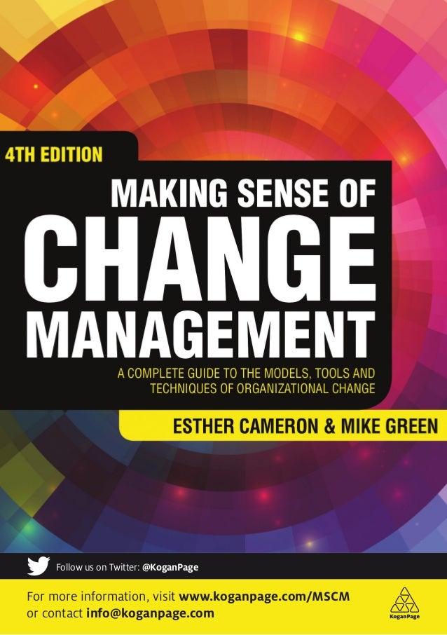 Making Sense of Change Management Flyer
