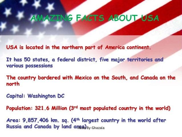 Presentation About America