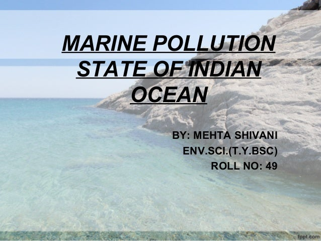 marine pollution essay Marine pollution occurs when harmful, or potentially harmful, effects result from the entry into the ocean of chemicals, particles, industrial, agricultural, and.
