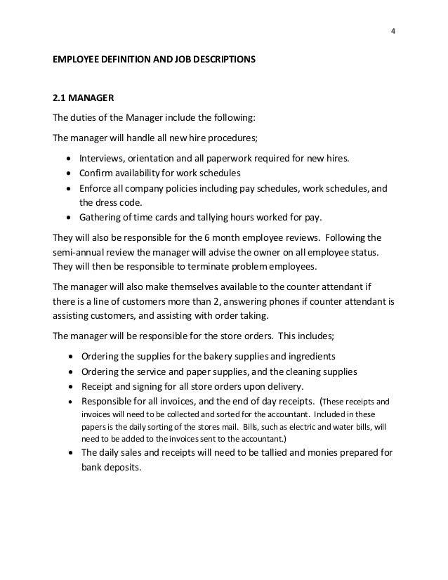 sugar shoes bakery manual 12 2014 rh slideshare net Sassy Employee bakery employee training manual