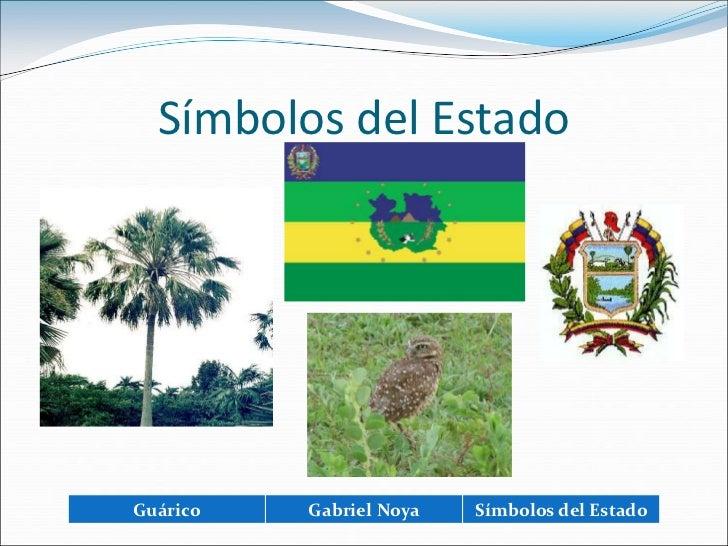 Simbolo Natural Del Estado Guarico | 9c gabriel noya guarico