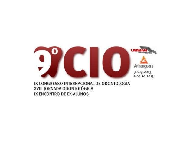 Desde 2005, o curso de Odontologia da UNIBAN – ANHANGUERA, promove o CongressoInternacional de Odontologia, evento que tem...