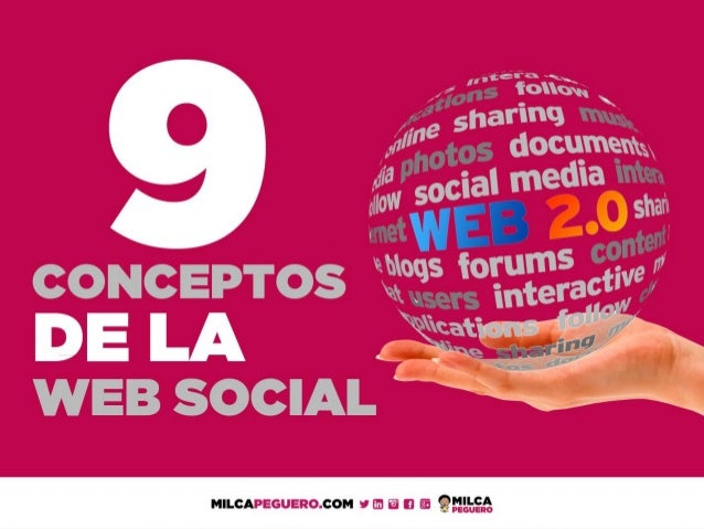 9 Conceptos de la Web Social o Web 2.0