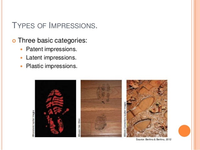 Forensic Science 07 Casts And Impressions
