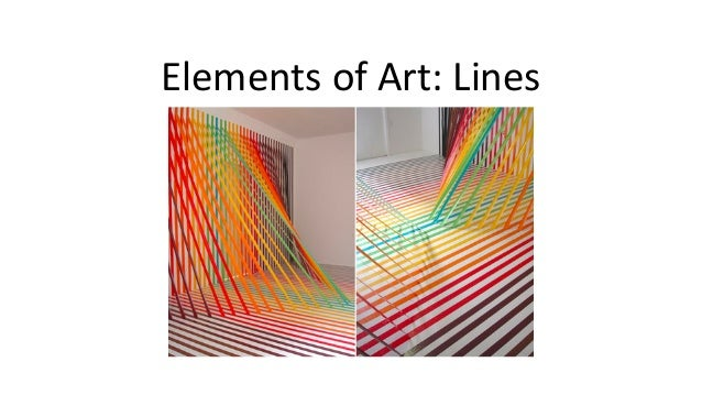 Elements of Art: Lines