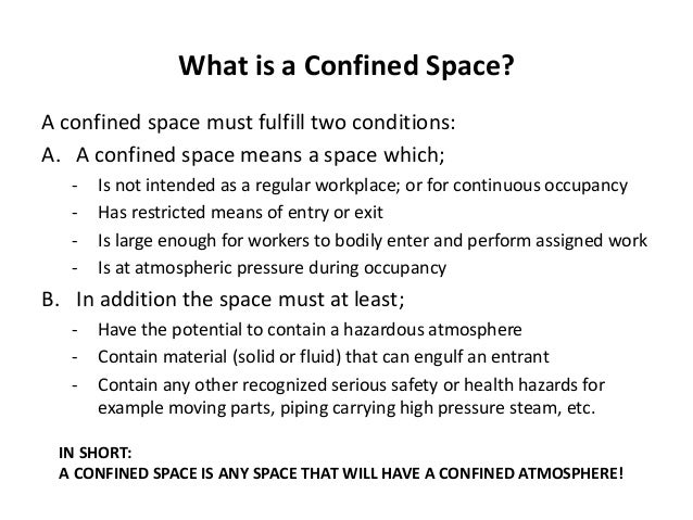 Confined space training the need for confined space training and requirements 2 pronofoot35fo Images