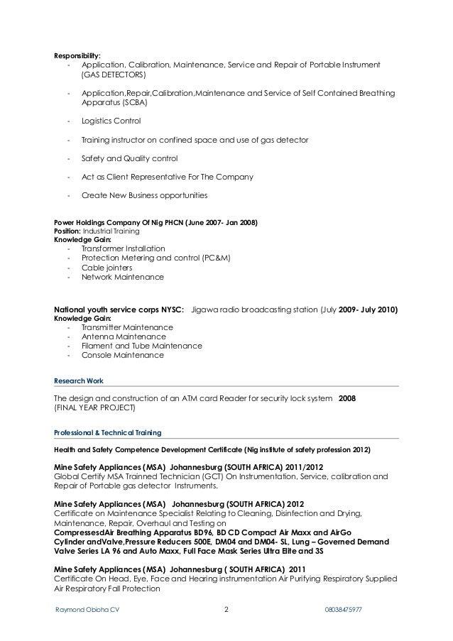 Rayz cv new pdf Slide 2