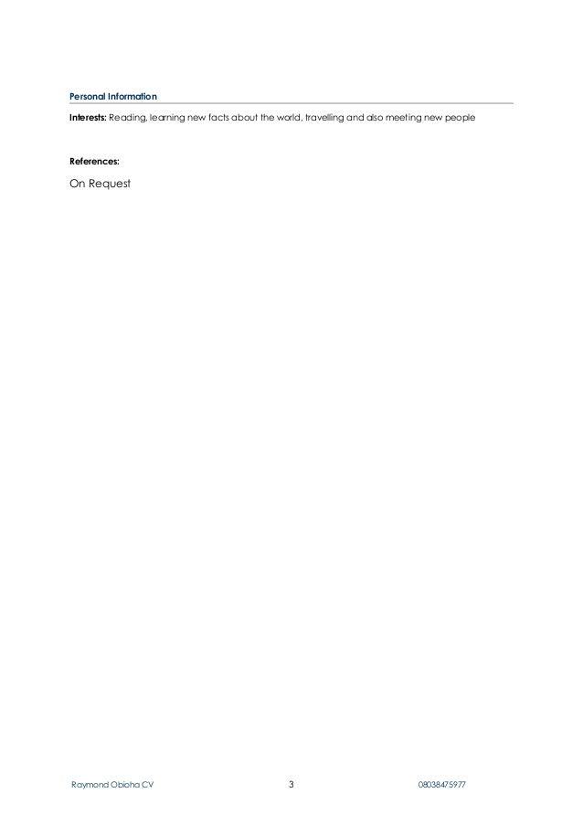 Rayz cv new pdf Slide 3