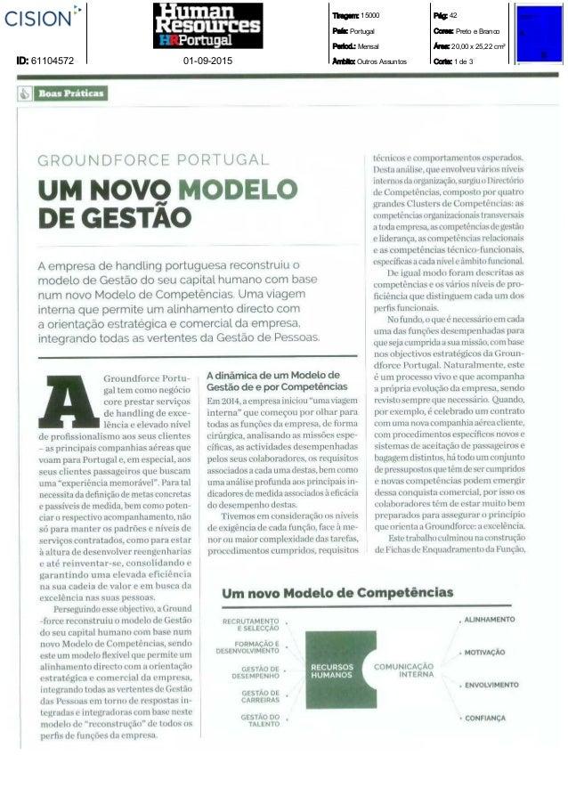 Tiragem: 15000 País: Portugal Period.: Mensal Âmbito: Outros Assuntos Pág: 42 Cores: Preto e Branco Área: 20,00 x 25,22 cm...