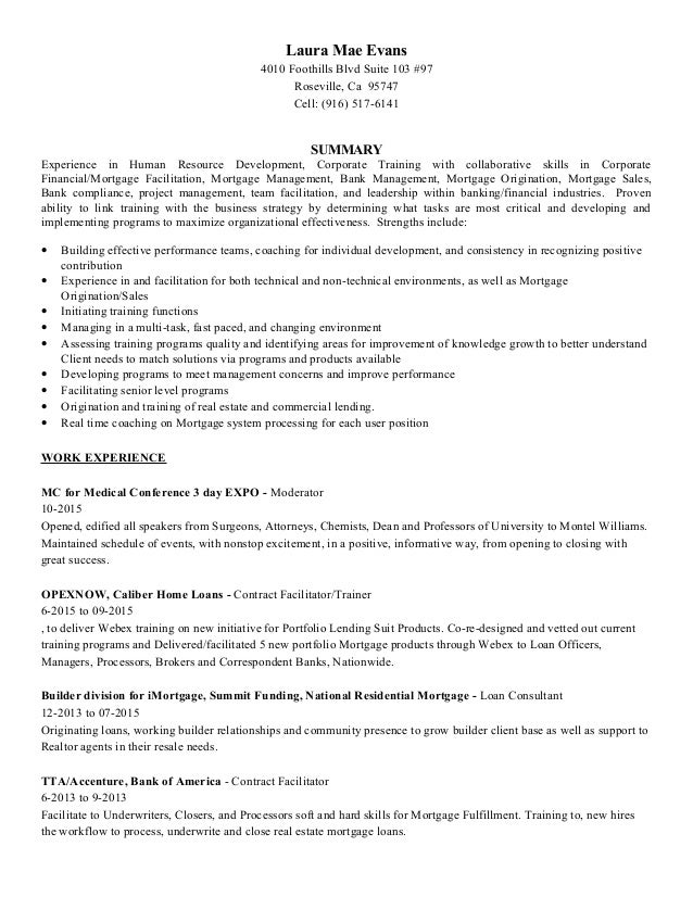 Resume Laura Evans Nov2015