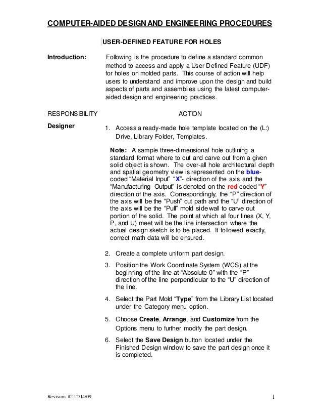 Tom Gerrick Technical Writing Sample