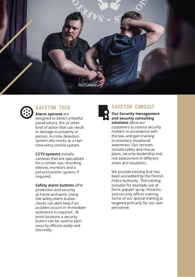 Safetor Oy Ltd - Company brochure