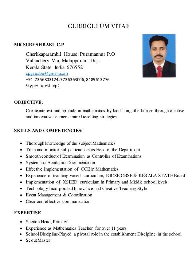 Curriculum Vitae 2016 New November 1