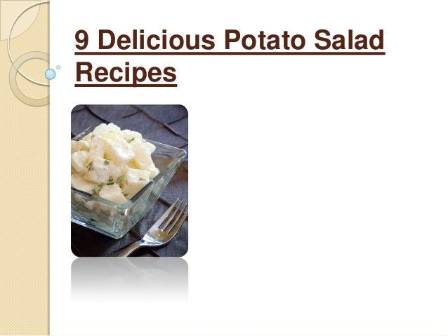 9 Delicious Potato SaladRecipes