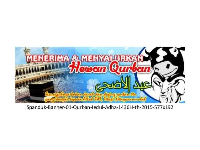 9 desain banner spanduk qurban idul adha