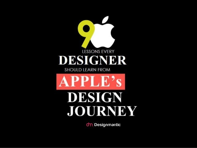 9 Lessons Every Designer Should Learn From Apple's Design Journey